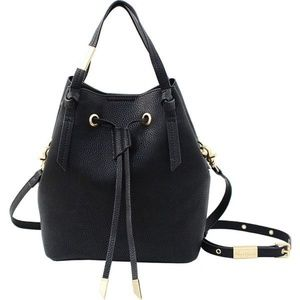 "Foley + Corinna Black ""Wildheart"" Small Bucket Bag"